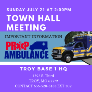 Town Hall Meeting TROY @ Base 1 Headquarters   Troy   Missouri   United States